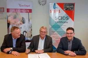 Van Empel Opleidingen en Training tekent Examenovereenkomst met SCIOS