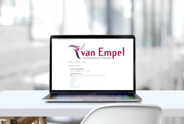 E-learning modules beschikbaar voor iedere cursist!